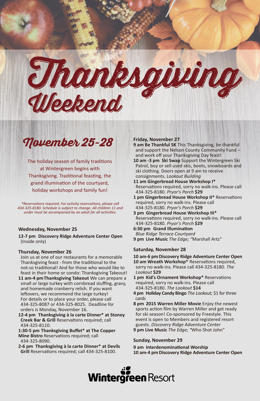 Thanksgiving Weekend 2015 Poster Icon