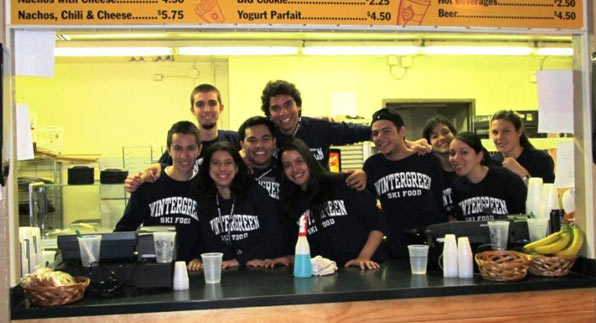 International Employees at Pryor's Porch Cafeteria