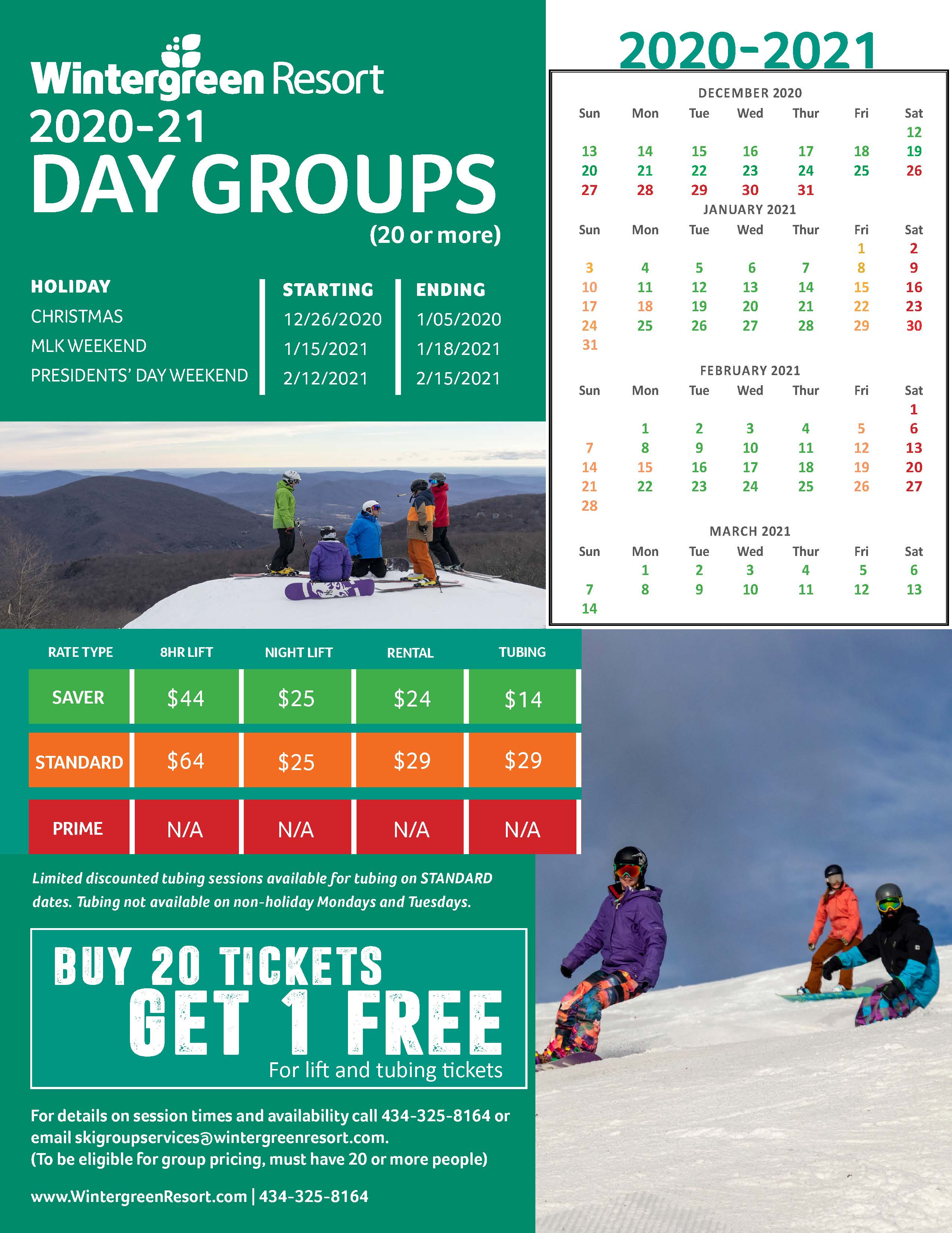 20.21 day groups