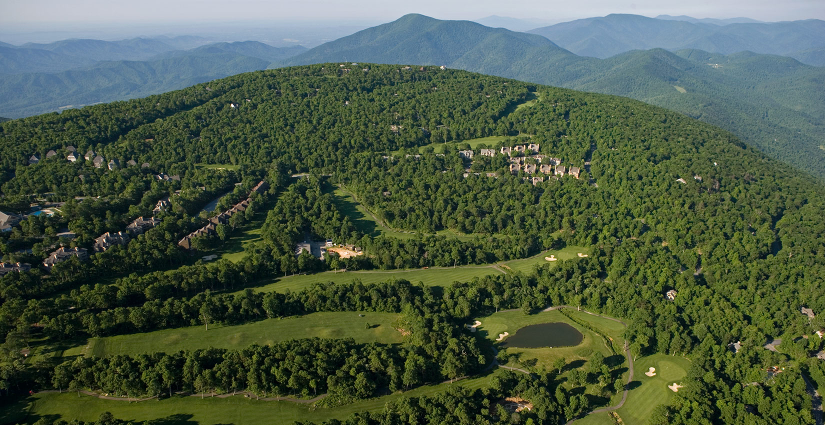 mountain golf in the blue ridge mountains at wintergreen resort in virginia